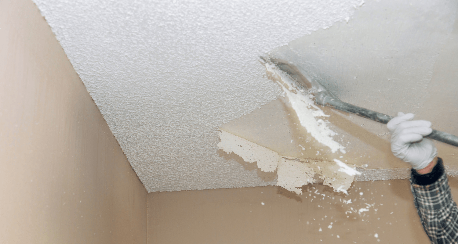 How Much Does Popcorn Ceiling Removal Cost?